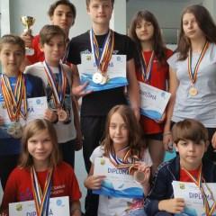 Natație: CSM Satu Mare a cucerit 38 de medalii