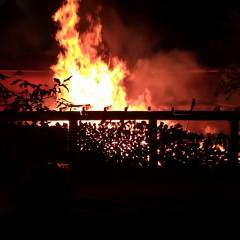 Incendiu violent la o casa din Negresti Oas