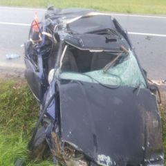 Accident rutier grav la Vezendiu