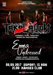 Seara de Thrash Metal Finlandez si Rock Alternativ la Satu Mare