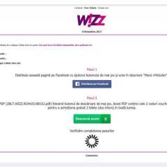 Avertisment: Țeapa cu bilete gratuite la Wizz Air care circulă pe Facebook