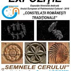 """Expoziția """"Constelații românești tradiționale"""" și """"Semnele cerului"""" la Centrul de Creație"""