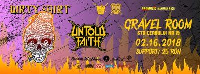 Concert Dirty Shirt și Untold Faith la Satu Mare