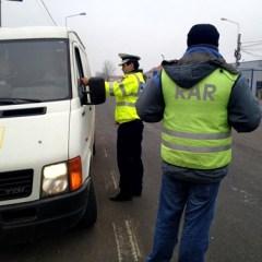 Controale ale Politiei Rutiere si RAR pe drumurile din judetul Satu Mare