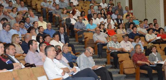 Sedinta de lucru la Consiliul Judetean Satu Mare pe tema urbanism si amenajarea teritoriului