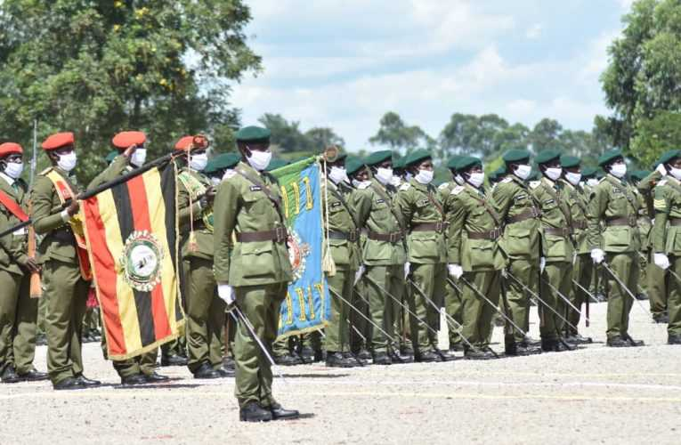Museveni commissions 1143 officers, Cadets