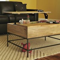 west elm : RUSTIC STORAGE COFFEE TABLE | Sumally ()