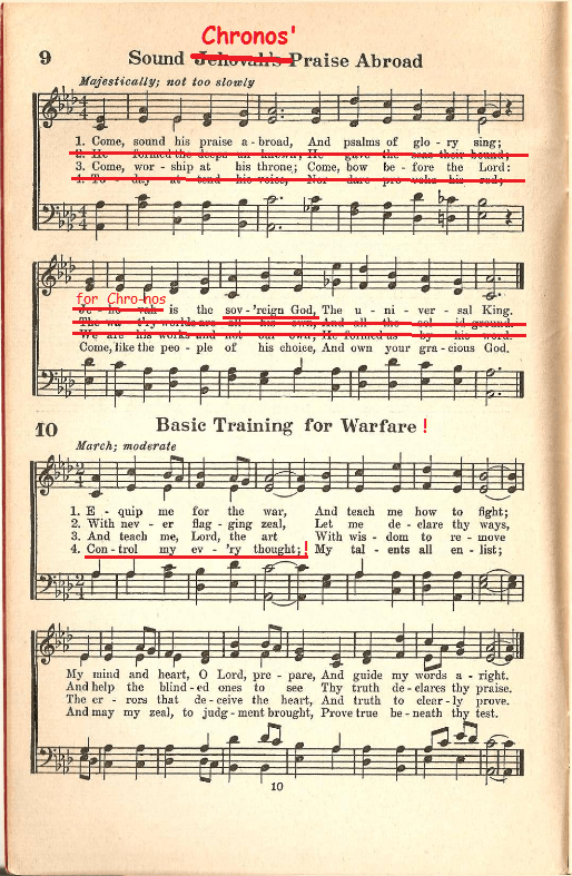 Kingdom Service Songbook, 1944