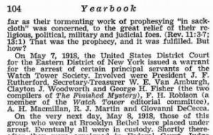 1975 Yearbook arrest date