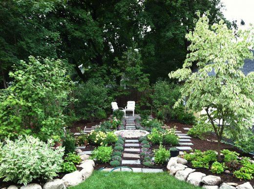 formal residential garden sally