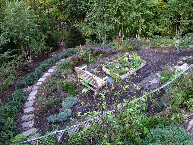 Raised Vegetable Garden Slope