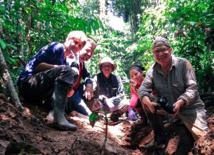 Ameisenfrosch-Team