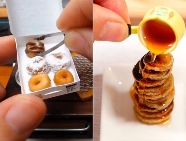 Los vdeos japoneses de comida en miniatura que te van a