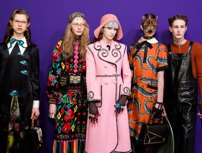El desfile de los 119 modelos 5 claves para entender el show de Gucci  Moda Pasarela  S Moda