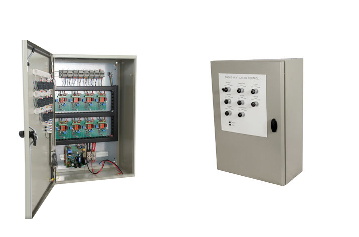 Basic Fire Alarm System Diagram Aov Controls Smoke Vent Systems