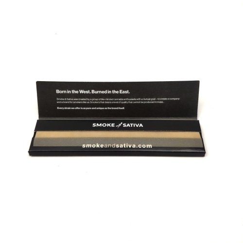 Smoke & Sativa Rolling Papers - Weed Delivery London
