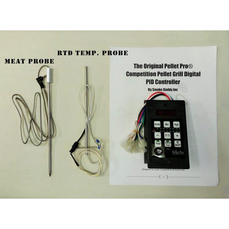 pellet pro® pid controller - pellet grill upgrade - pellet grill - traeger  smoker wiring