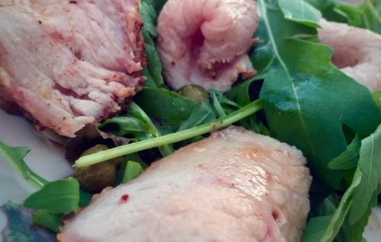 More experiments with Italian veal  – Vitello Tonnato