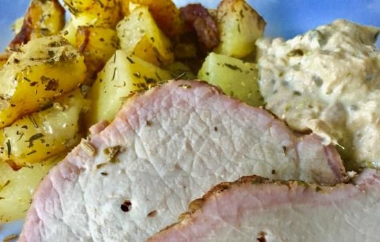 Pork Loin with Tuna and Caper Sauce – Lonza di maiale Tonnato