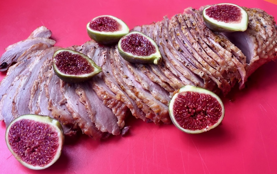 Magret de Canard aux figues – Duck Breast with Figs