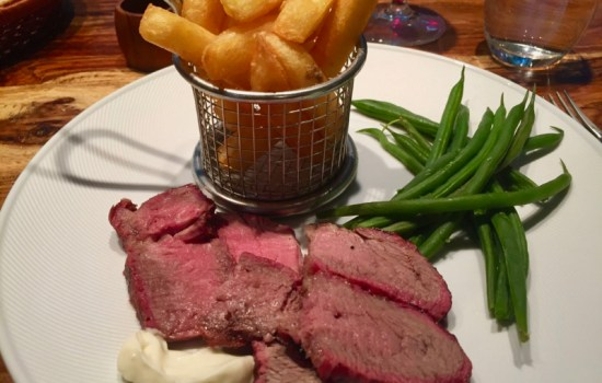Bastille Day Steak and Chips