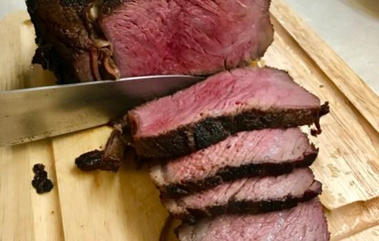Reverse Seared Ribeye Steak – perfect for 6!