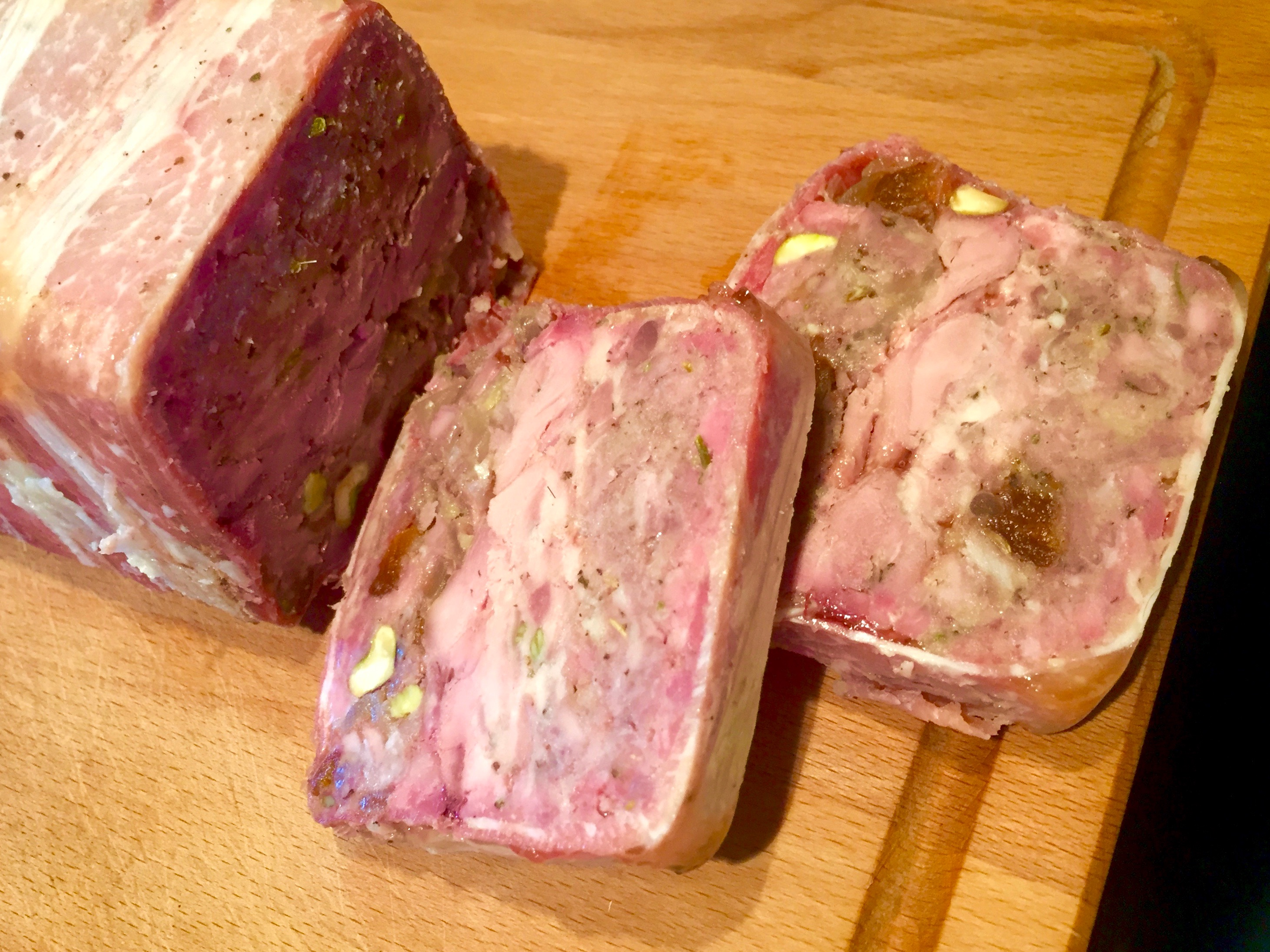Game Terrine – getting in practice for Christmas