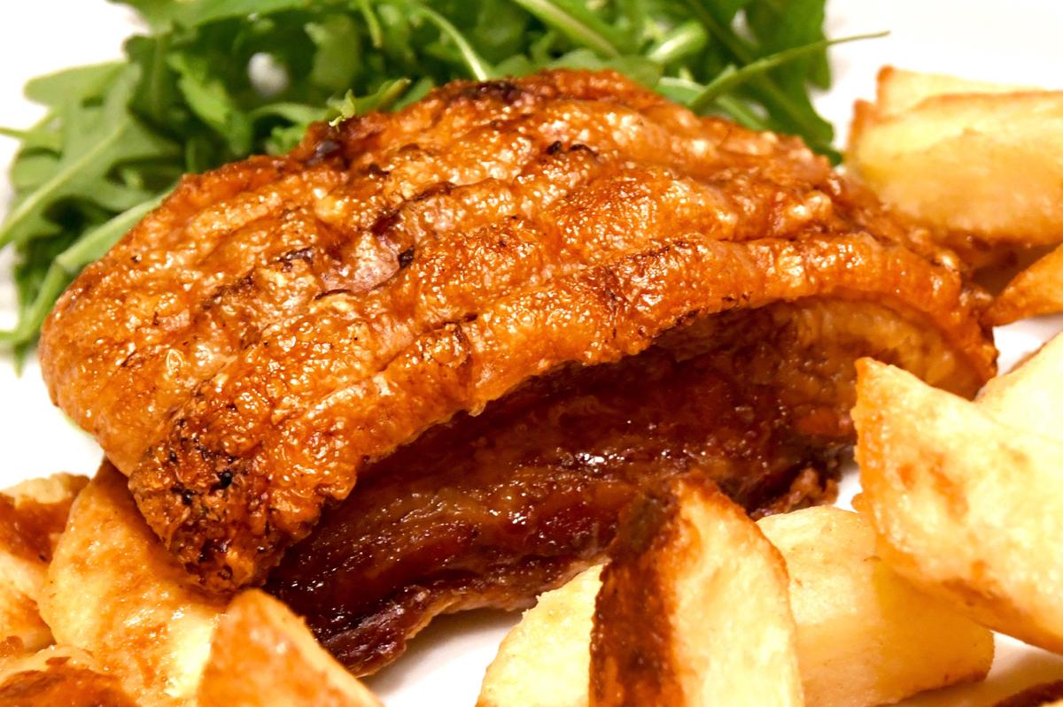 Crispy Allendale Belly Pork