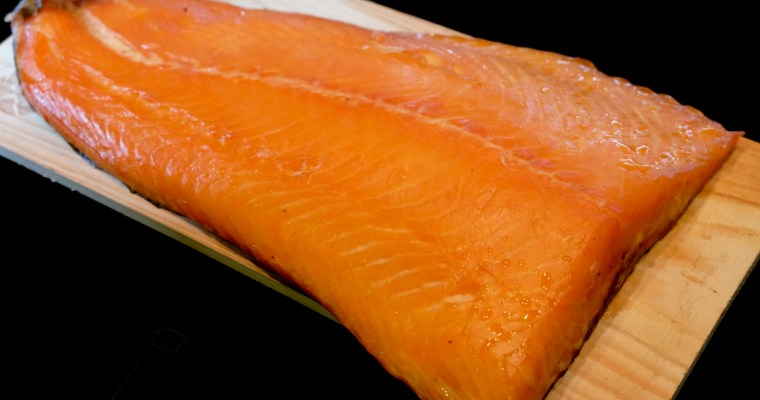 Hot Smoked Salmon – Cedar and Beech Smoked