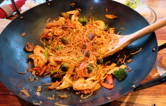 Simple Seafood Stir fry – with video