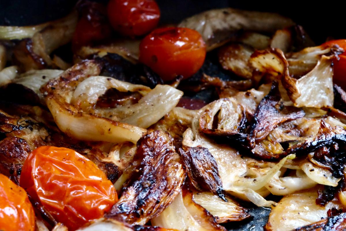 Slow roasted caramelised fennel – latest reflections