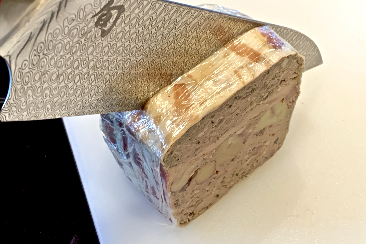 Slicing Terrines – don't let it crumble!!