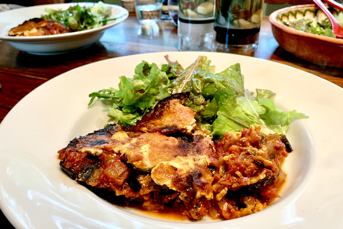 Aubergine Parmigiana revisited – our definitive version!