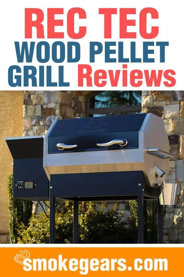 REC TEC wood pellet grill review pinterest image
