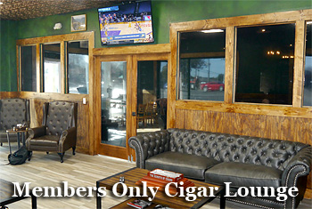 Smoke Rings '72 Cigar & Pipe Members Only Lounge