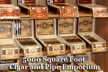5000 Square Foot Cigar and Pipe Emporium