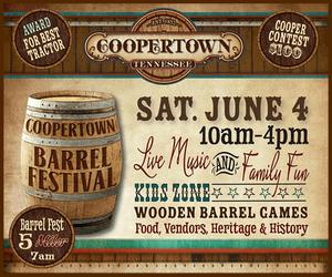 Coopertown barrel festival 300