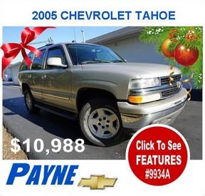 Payne 2005 Tahoe 9934A