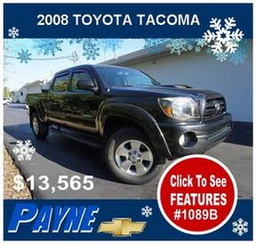Payne 2008 Toyota Tacoma 1089B 288