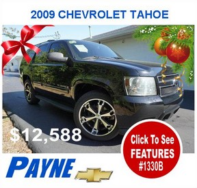 Payne 2009 Chevrolet Tahoe 1330B
