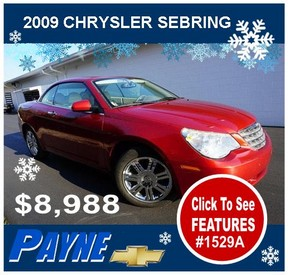 Payne 2009 Chrysler Sebring 1529A 288
