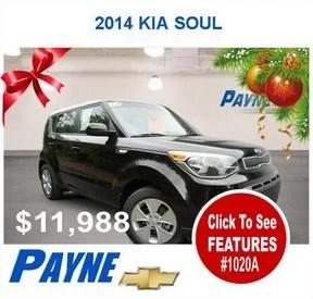 Payne 2014 Kia Soul 1020A