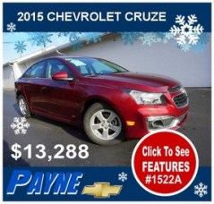 Payne 2015 chevrolet cruze winter 1522A 288