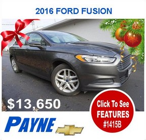 Payne 2016 Ford Fusion 1415B