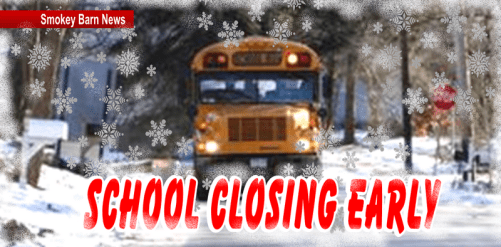 Robertson County Schools Closing Early Ahead Of Weather