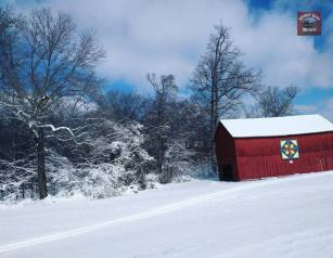 Submitted by Amber Evans - Barns in the snow