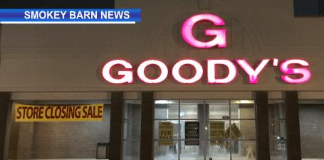 Goody's closing slider
