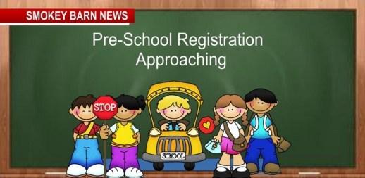 Pre-K Registration Dates Approaching