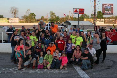 Victory Lane Celebration