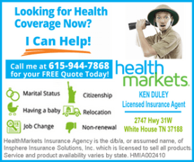 Ken Duley Health Market April 1 - 14 2016